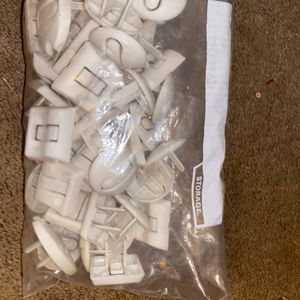Quart size bag full of outlet protectors